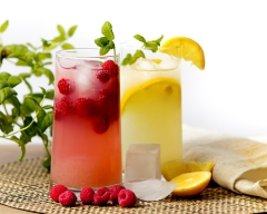 Rasperry lemonade - food and drink