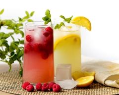 Rasperry lemonade - food and drink