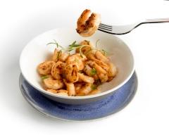 Food shrimp in a pan IMG_1508 edit 900