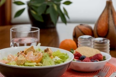 Salad table food