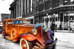 1932 Packard at 1939 Queen Street