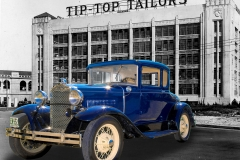 1931 Ford at 1930 Tip Top Tailors