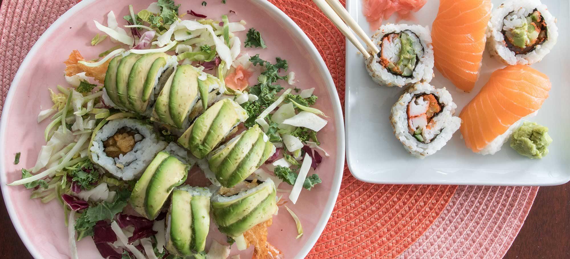 Food Sushi Frangon Roll