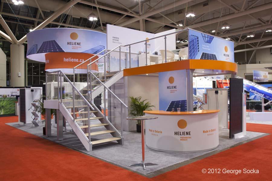Solar Canada Trade Show Booth