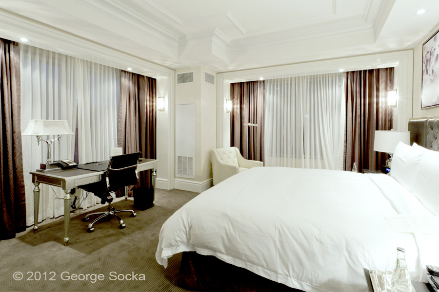 Trump Hotel Room - Architectural Photography by George Socka