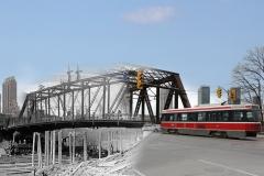 1918 Bathurst Bridge-Toronto History by George-Socka