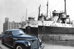 1940 Buick at 1929 Toronto Harbour Warf